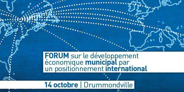 Le développement économique municipal par un positionnement international