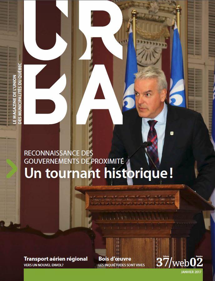 Édition numérique du magazine URBA