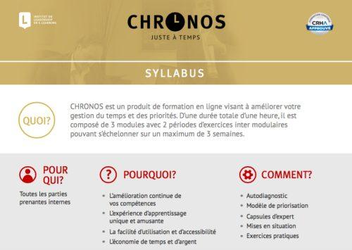 Chronos2015-Syllabus