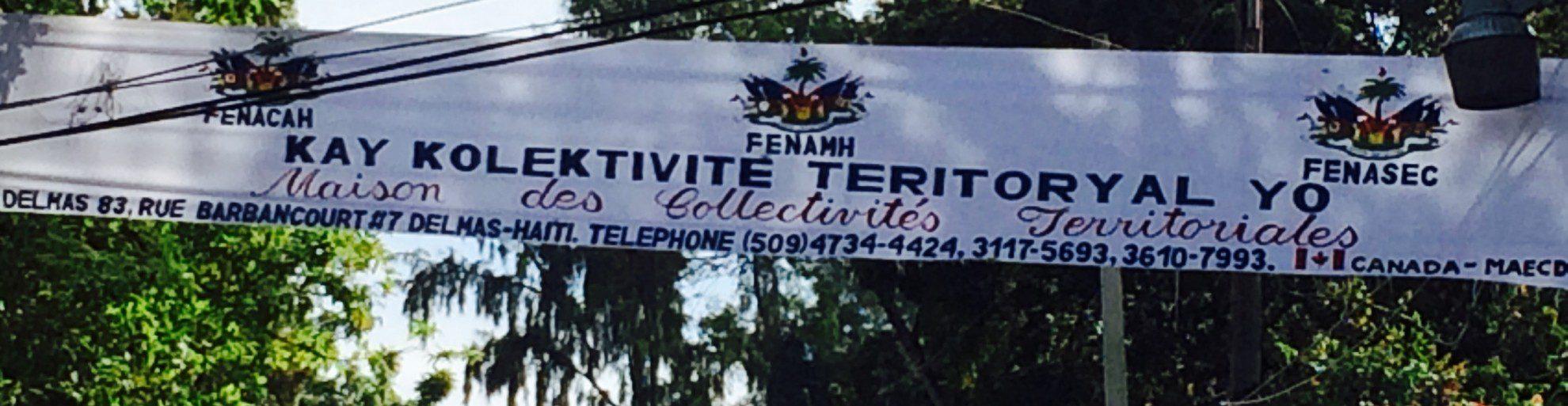 Programme de coopération municipale Haïti-Canada