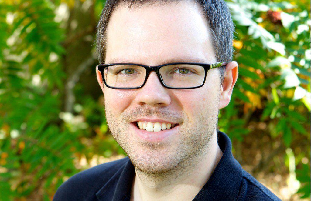 Marc-André Bernier, employé sourd et muet de la bibliothèque Le Prévost