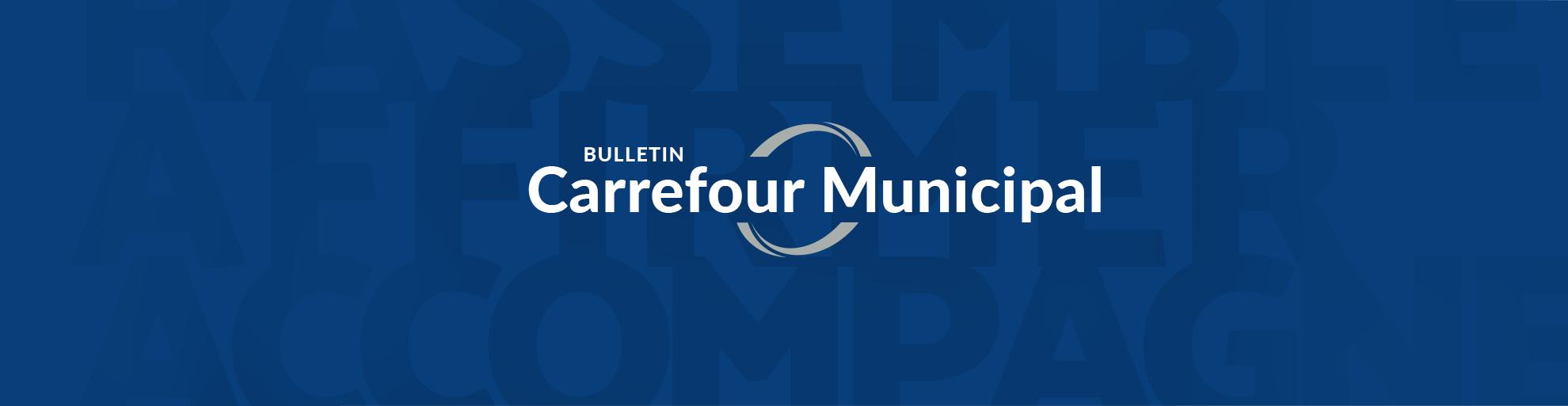 Bulletin Carrefour municipal