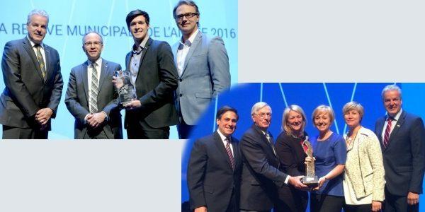 Prix Francine-Ruest-Jutras et Personnalité de la relève municipale de l'année