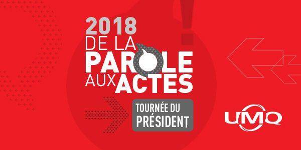 Tournée du président 2018