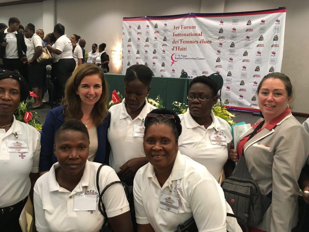 Programme de coopération municipale Haïti-Canada <br/> Les mairesses Maude Laberge et Vicki-May Hamm en mission en Haïti