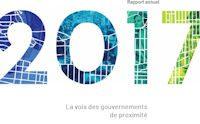 Rapport annuel 2017<br/>La voix des gouvernements de proximité