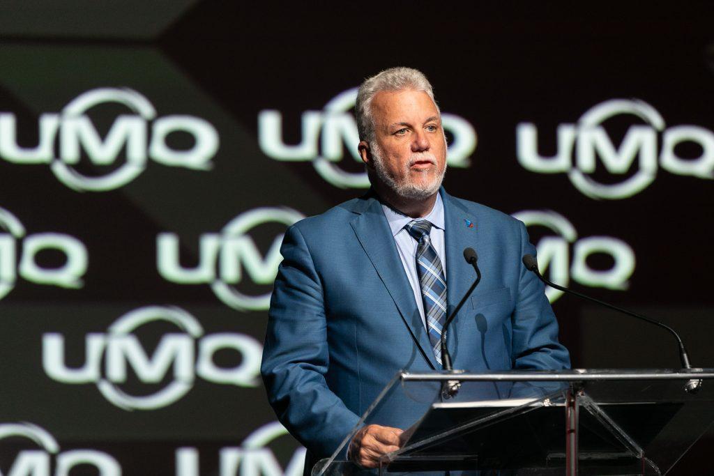 L'UMQ réagit à l'annonce du départ du premier ministre Philippe Couillard