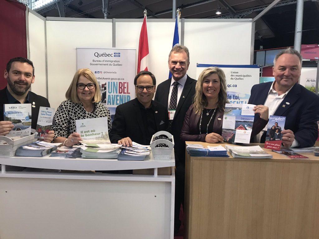 Pénurie de main-d'œuvre  –  Mission accomplie pour l'UMQ en France!