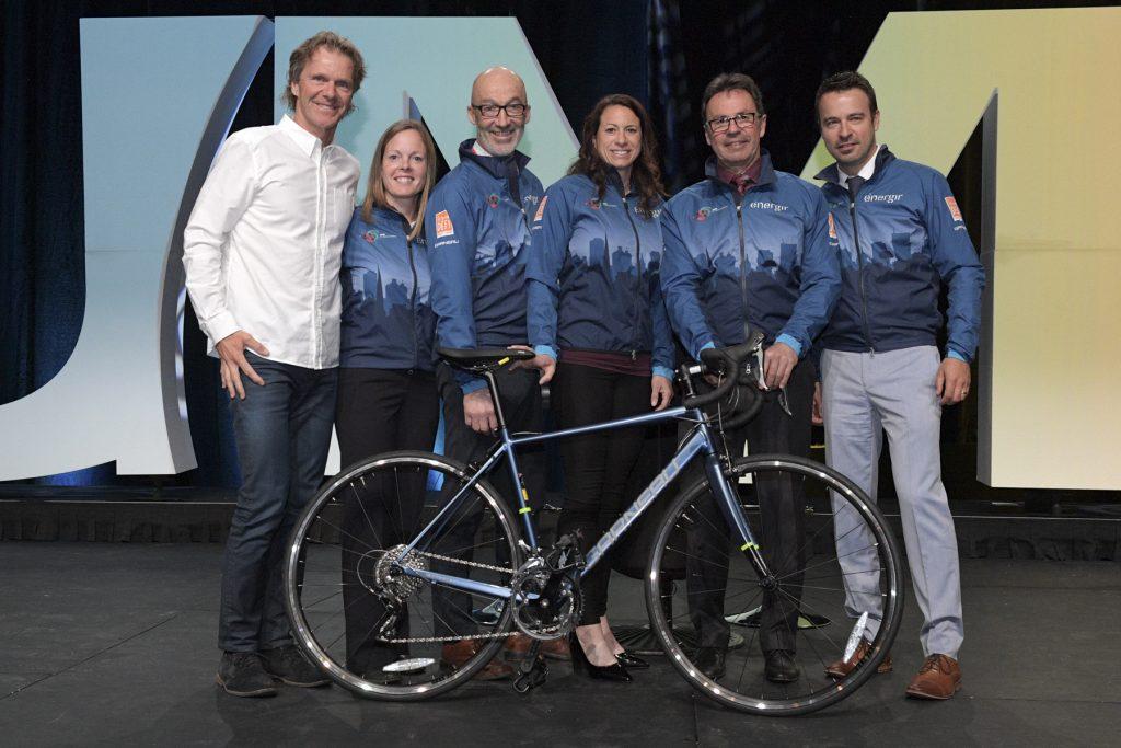 Grand défi Pierre Lavoie 2019 – <br/>L'équipe UMQ-Énergir fera la promotion d'un mode de vie physiquement actif