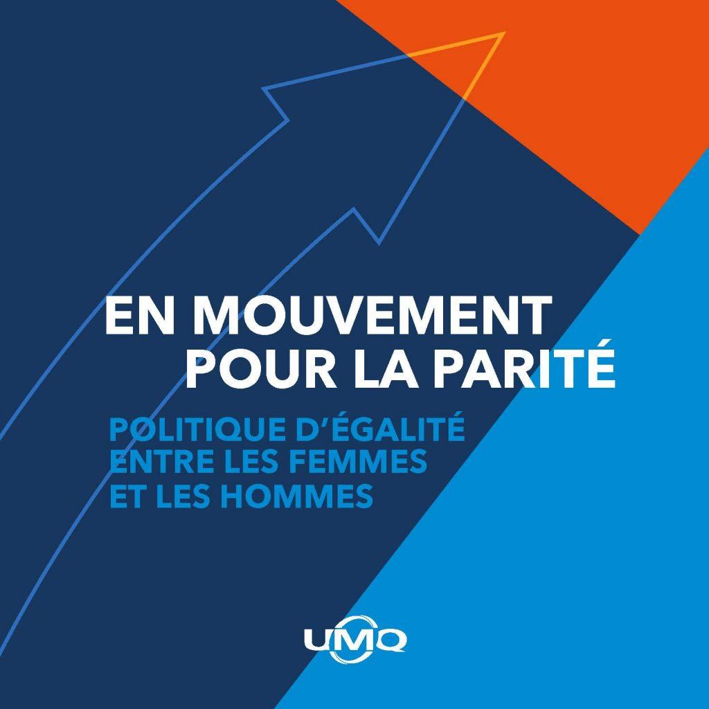 En mouvement pour la parité – Politique d'égalité entre les femmes et les hommes