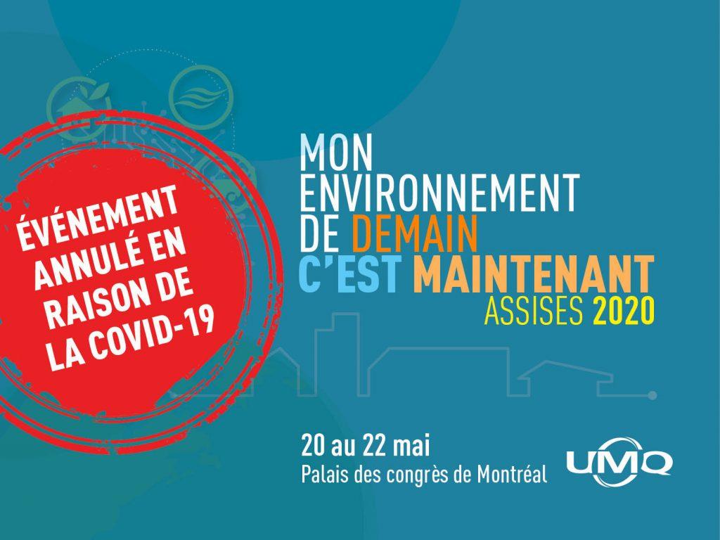 Pandémie de la COVID-19 – <br/>L'UMQ annule ses Assises 2020