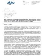 Projet de loi no 61, Loi visant la relance de l'économie du Québec et l'atténuation des conséquences de l'état d'urgence sanitaire déclaré le 13 mars 2020 en raison de la pandémie de la COVID‐19