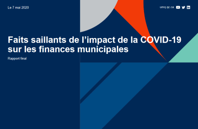 Faits saillants de l'impact de la COVID-19 sur les finances municipales