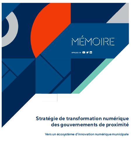 Stratégie de transformation numérique des gouvernements de proximité