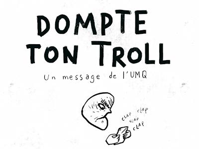 Intimidation sur les médias sociaux – <br/>L'UMQ lance une vidéo de sensibilisation ayant pour thème « Dompte ton troll »