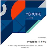 Loi sur la langue officielle et commune du Québec, le français